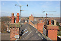 SJ4066 : Rooftop view from St Martin's Way, Chester by Jeff Buck