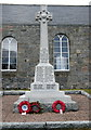 NJ6812 : Cluny war memorial. by Bill Harrison