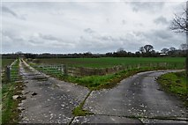 ST4718 : Cartgate: Fosse Way Farm by Michael Garlick