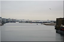 TQ4180 : London City Airport by N Chadwick