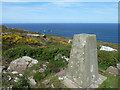 SW4740 : View from trig point, Trevega Cliff by Robin Webster