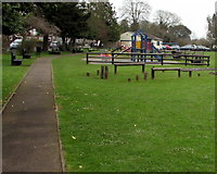 SO6302 : Bathurst Park children's playground, Lydney by Jaggery