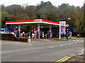 SO2800 : Esso filling station, Rockhill Road, Pontypool by Jaggery