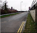 SO2800 : Entry slip road to the A472 from Rockhill Road, Pontypool by Jaggery