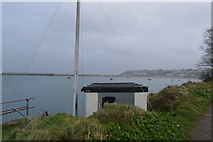 SX9257 : Hut, Battery Grounds by N Chadwick
