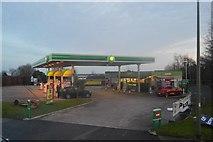 SX8962 : BP filling station, Torquay Rd by N Chadwick