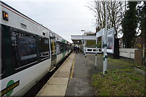 TQ2463 : Train at Cheam Station by N Chadwick