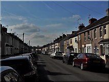 SU1585 : Beatrice Street, Gorse Hill by Chris Brown