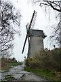SJ2889 : Bidston Windmill by Chris Allen