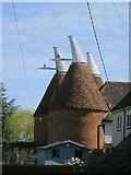 TQ7444 :  Church Farm Oast, Maidstone Road, Marden by Oast House Archive
