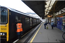 SX8671 : Paignton train at Platform 2, Newton Abbot Station by N Chadwick