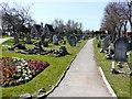 TQ5087 : Romford Cemetery, Crow Lane by John Baker