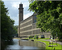 SE1438 : New Mill at Saltaire by Mat Fascione