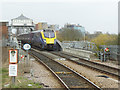 SE6132 : Selby station - London train arriving by Stephen Craven