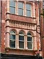 SE3033 : Wray's Building, Vicar Lane – detail by Alan Murray-Rust