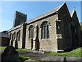 SX0854 : The Church of St Andrew the Apostle Tywardreath by Roger Cornfoot