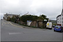 SX3384 : Launceston, Westgate Street Car Park by Michael Garlick