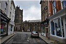 SX3384 : Launceston, St. Mary Magdalene's Church by Michael Garlick