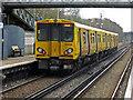 SJ3479 : Eastham Rake Station by Chris Allen
