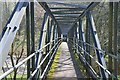 NT9353 : Footbridge over the Whiteadder Water by Jim Barton