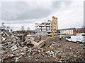 SD8010 : Former Police Station Demolition Site by David Dixon