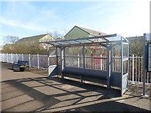 SX0159 : Bugle railway station by Roger Cornfoot