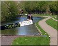 SJ9000 : Narrowboat on the Birmingham Canal by Mat Fascione
