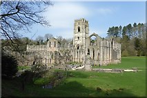 SE2768 : Fountains Abbey by DS Pugh