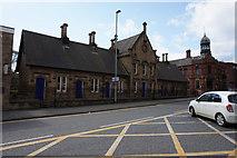 SE3320 : Almshouses on George Street, Wakefield by Ian S