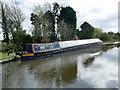 SK2120 : Narrowboat 'Hadley' moored in Tatenhill Lock basin by Graham Hogg