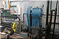 SU4924 : Twyford Pumping Station - auxiliary machinery by Chris Allen