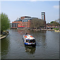 SP2054 : Stratford-upon-Avon: the Avon and the Royal Shakespeare Theatre by John Sutton