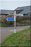 SX8157 : Ashprington Cross by N Chadwick