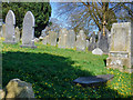 SS7329 : North Molton : All Saints Churchyard by Lewis Clarke