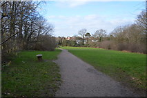 TQ2163 : Footpath, West Ewell by N Chadwick