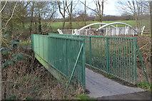 TQ2064 : Footbridge, London Loop by N Chadwick