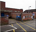 SO6303 : Original Factory Shop deliveries area, Lydney by Jaggery