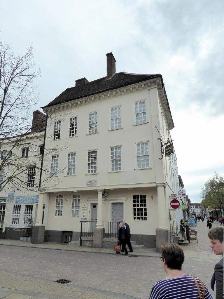Samuel Johnson's Birthplace