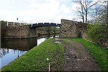 SE2519 : Bridge 22 Lodge Farm, Calder & Hebble Navigation by Ian S