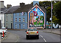 D2327 : Hurling Mural at Cushendall by David Dixon
