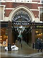 SE3033 : Thornton's Arcade, Leeds by Alan Murray-Rust