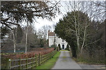 TR2157 : Littlebourne Court House by N Chadwick