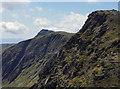 SH8624 : The three main summits of the Aran ridge by Andrew Hill