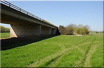 SO8451 : Bridge on Worcester's southern relief road by Philip Halling