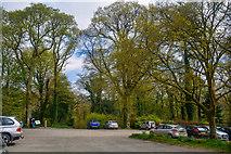 SX4268 : Cornwall : Cotehele Car Park by Lewis Clarke