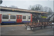 TQ5686 : District line train at Upminster by N Chadwick