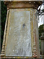 NS3374 : Hamilton gravestone, Port Glasgow Cemetery by Thomas Nugent