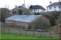 SX9575 : Barn by N Chadwick