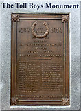 NS3274 : The Toll Boys Monument by Thomas Nugent