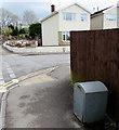 ST1597 : Grey Royal Mail drop box, St David's Road, Pengam by Jaggery